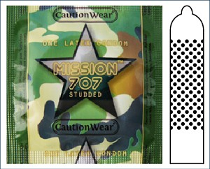 Mission-707° - Studded Condom